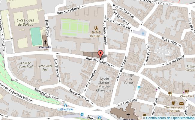 plan Les Remparts d'Angoulême Angoulême