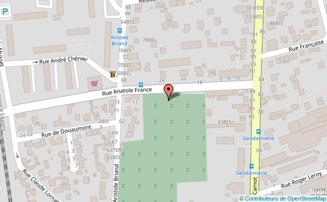 plan Maison de quartier de Fin d'Oise Conflans-Sainte-Honorine