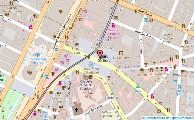 Plan Maison Des Associations Garibaldi Nice