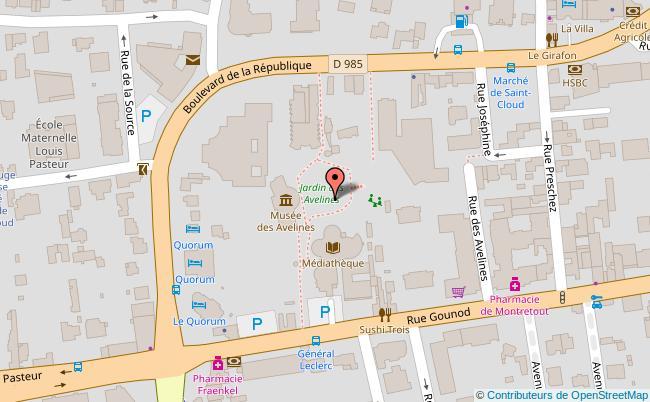 plan Maison des avelines Saint-Cloud