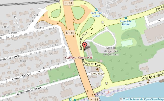 plan MJC / Les Terrasses Conflans-Sainte-Honorine