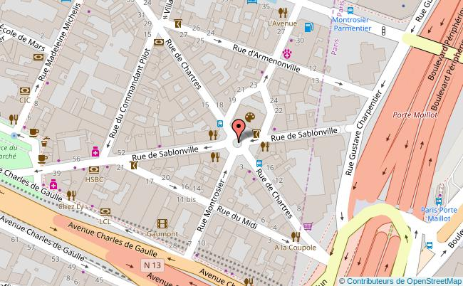 plan Mjc de Neuilly-sur-Seine Neuilly-sur-Seine