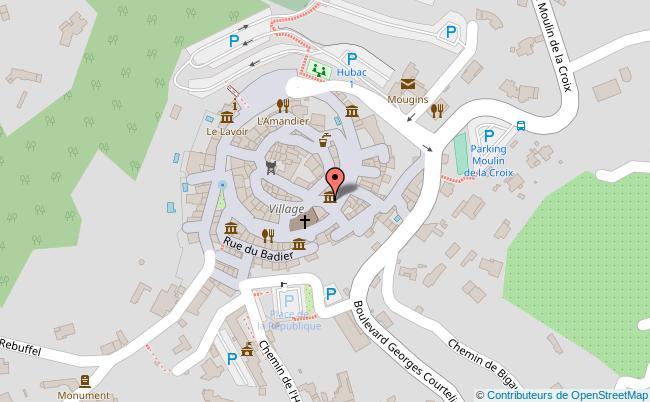 plan Musée de la photographie andre villers Mougins