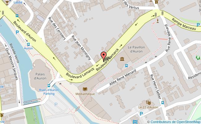 plan Palais d'auron Bourges