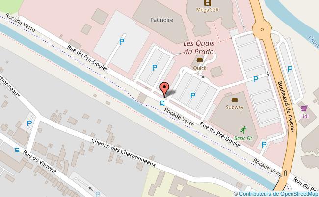 plan PALAIS DES SPORTS DU PRADO Bourges