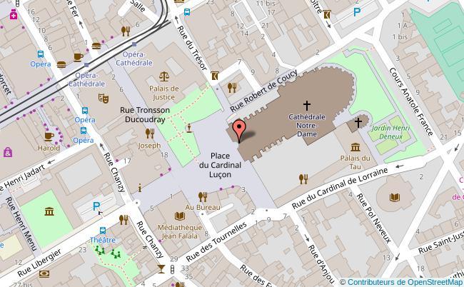 plan Palais du Tau - Musée de l'?uvre