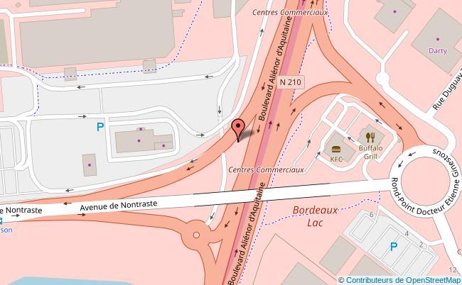 Plan PARC FLORAL Bordeaux