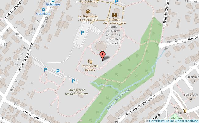 plan Parc Michel-Baudry