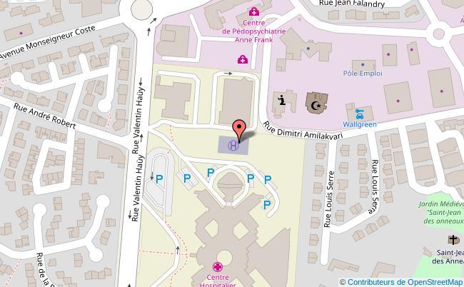 plan Parking du Géant Casino Béziers