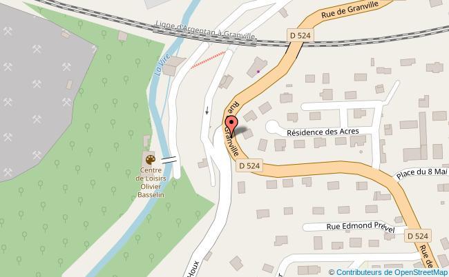 plan Parking Route de Saint-Sever Vire