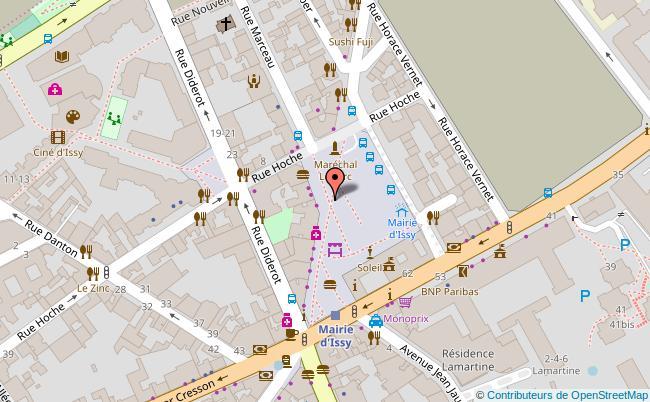 plan PLACE BONAVENTURE LECA A ISSY-LES-MOULINEAUX Issy-les-Moulineaux