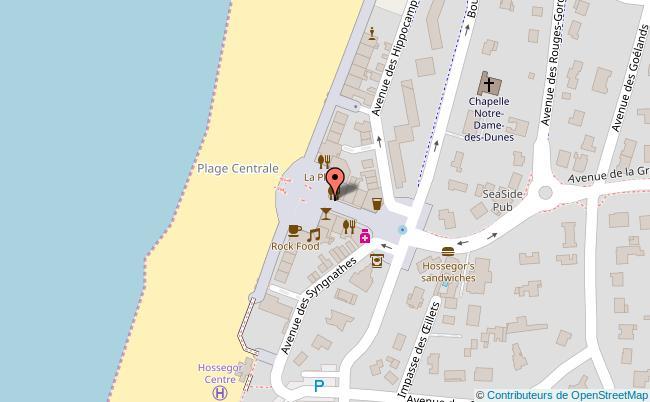 plan Place des Landais Soorts-Hossegor