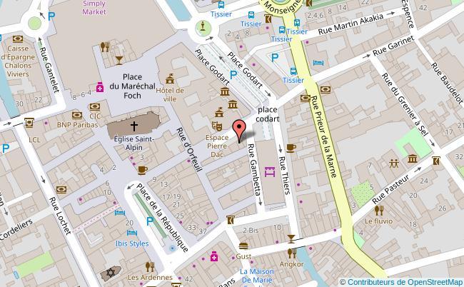 plan Place du Marché