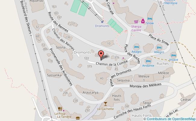 plan Place Jean-Vuarnet
