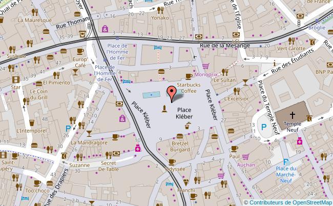 plan Place Kléber