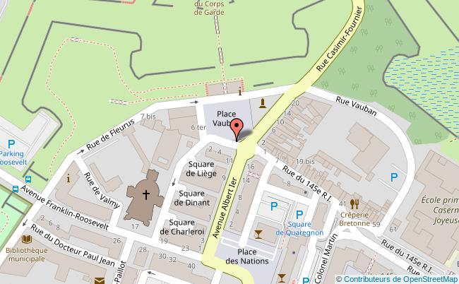 plan Place Vauban