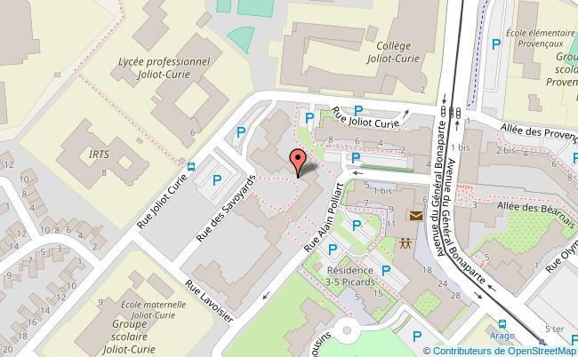 plan Rue des Savoyards Reims