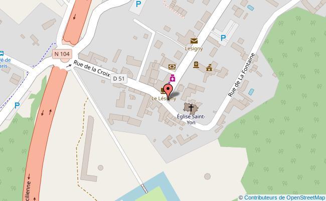 plan Salle des fetes de l'entre-deux-parcssalle des fetes de l'entre-deux parcs Lésigny