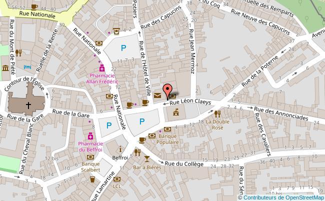 plan Salle des fêtes Emmanuel Looten Bergues