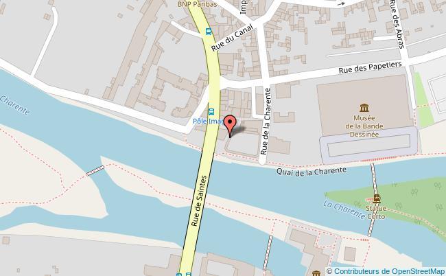 plan Street Fishing d'Angoulême Angoulême