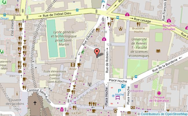 plan THEATRE LILLICO Rennes