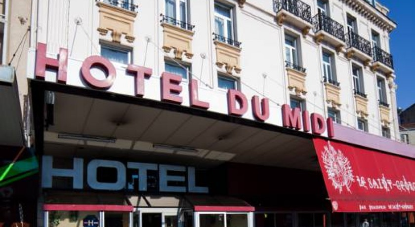 Grand Hotel Du Midi Clermont Ferrand