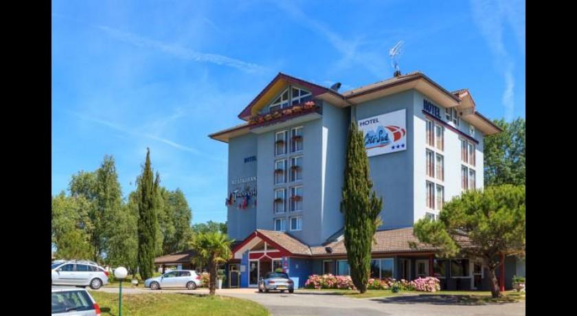 H tel des cygnes margencel for Hotel design sud france