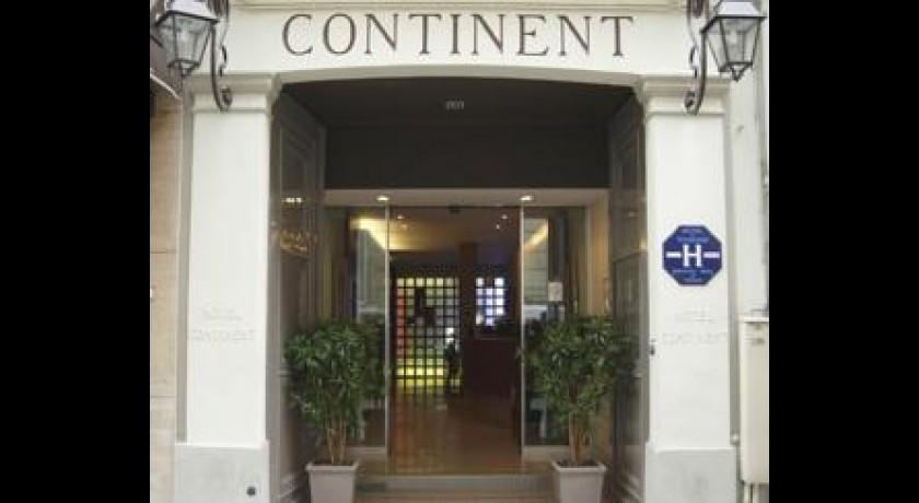 H tel westin paris - Hotel continent paris ...