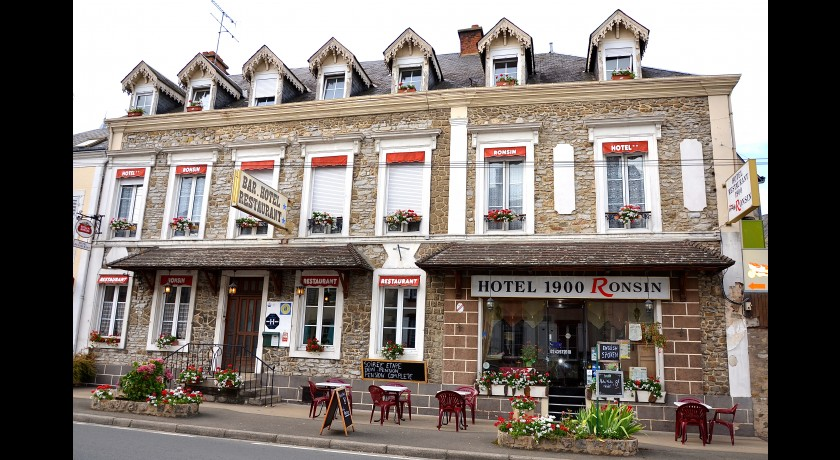 Hotel Le 1900 - Ronsin  Fresnay-sur-sarthe