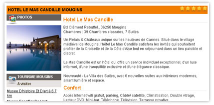 Exemple fiche hotel