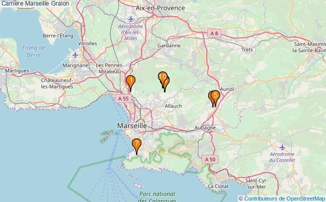 plan Carrière Marseille : 10 équipements