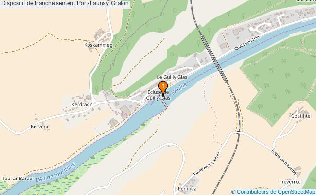 plan Dispositif de franchissement Port-Launay : 1 équipements