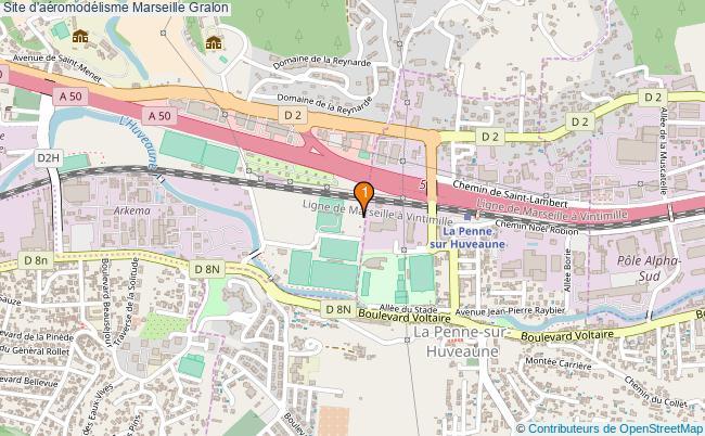 plan Site d'aéromodélisme Marseille : 1 équipements