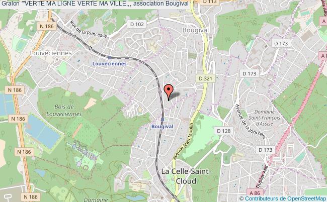 plan association '''verte Ma Ligne Verte Ma Ville,,, Bougival