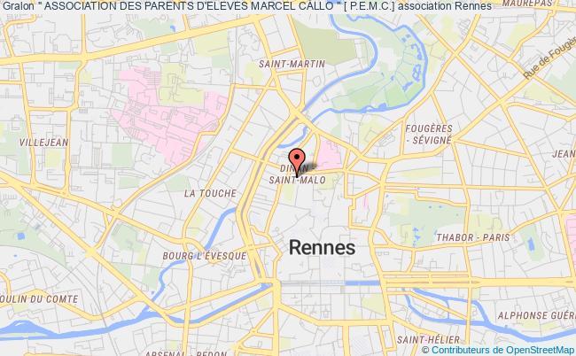 """plan association """" Association Des Parents D'eleves Marcel Callo """" [ P.e.m.c.]"""