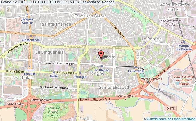 "plan association "" Athletic Club De Rennes "" [a.c.r.]"