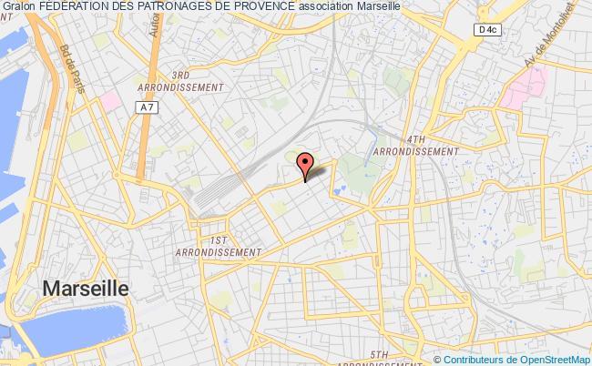plan association + Avenir Le Patronage Marseille