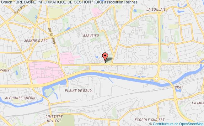 "plan association "" Bretagne Informatique De Gestion "" [big]"