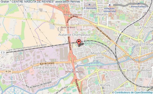 "plan association "" Centre Nascita De Rennes"" Rennes"