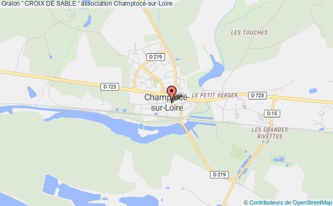 plan association ' Croix De Sable '