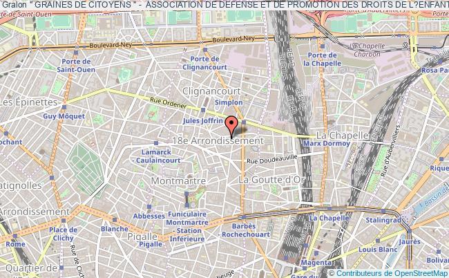 """plan association """" Graines De Citoyens """" -  Association De Defense Et De Promotion Des Droits De L?enfant"""