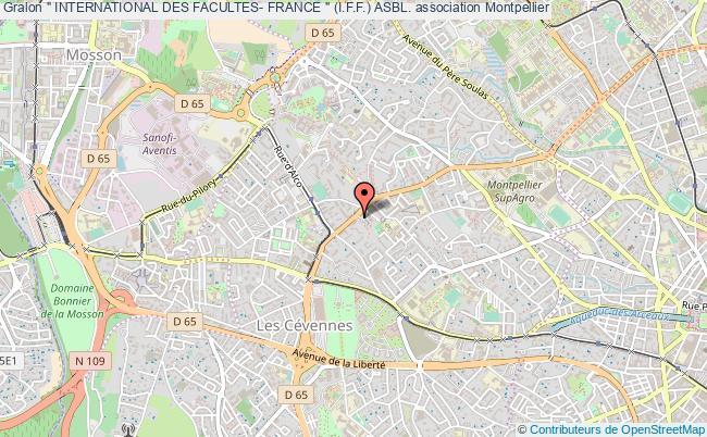 """plan association """" International Des Facultes- France """" (i.f.f.) Asbl."""