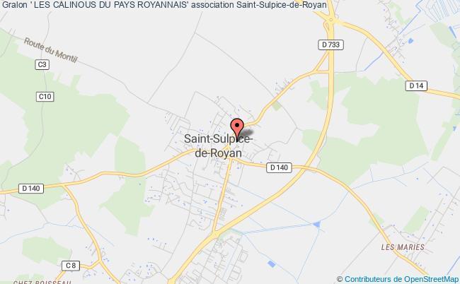 plan association ' Les Calinous Du Pays Royannais' Saint-Sulpice-de-Royan