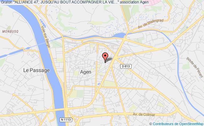 """plan association """"alliance 47, Jusqu'au Bout Accompagner La Vie..."""""""