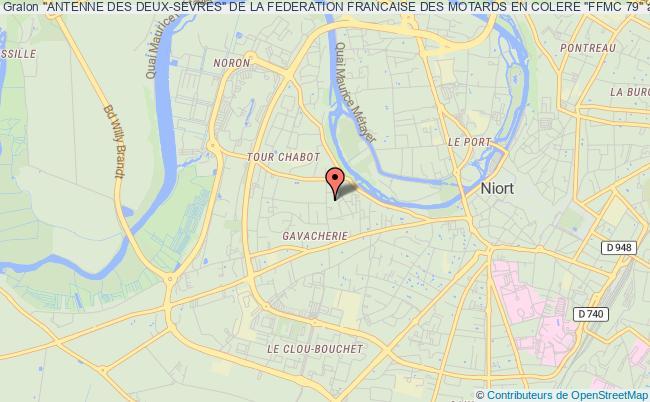 """plan association """"antenne Des Deux-sevres"""" De La Federation Francaise Des Motards En Colere """"ffmc 79"""""""