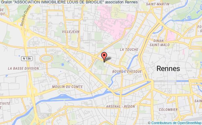 "plan association ""association Immobiliere Louis De Broglie"" Rennes"