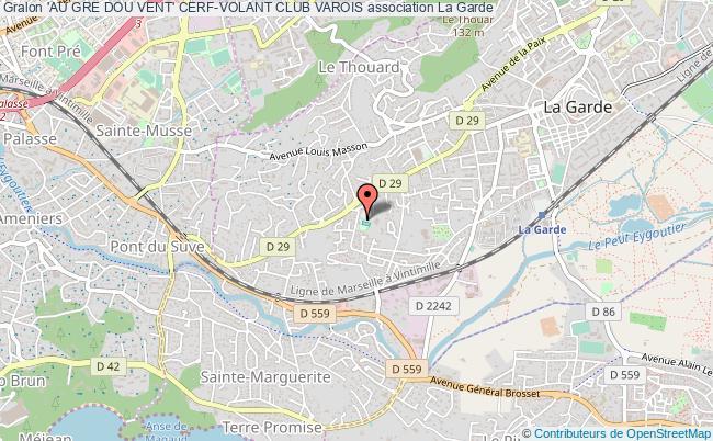 plan association 'au Gre Dou Vent' Cerf-volant Club Varois