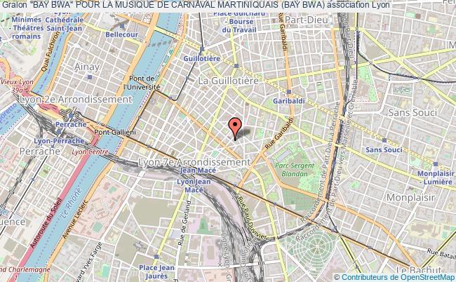 """plan association """"bay Bwa"""" Pour La Musique De Carnaval Martiniquais (bay Bwa)"""