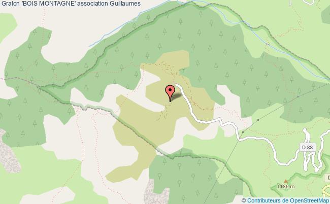 plan association 'bois Montagne'