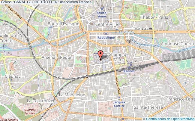 "plan association ""canal Globe Trotter"" Rennes"
